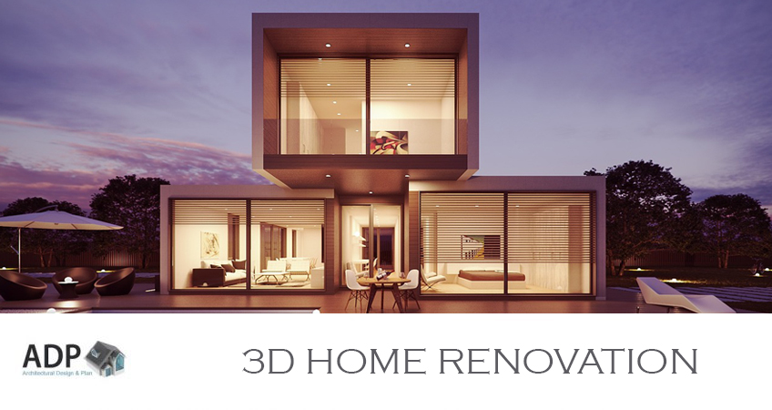 3d home renovation