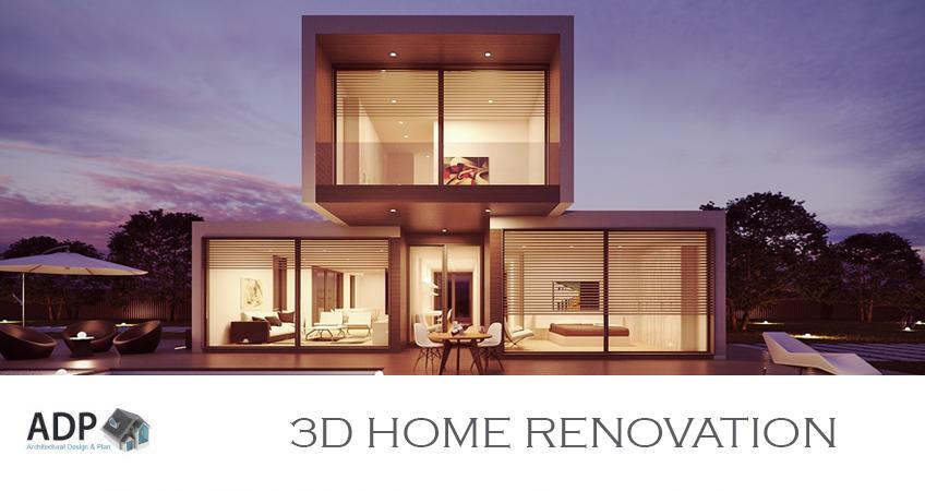 3d home renovation